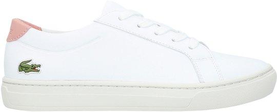 Lacoste L.12.12 318 Sneaker, White/Pink 35