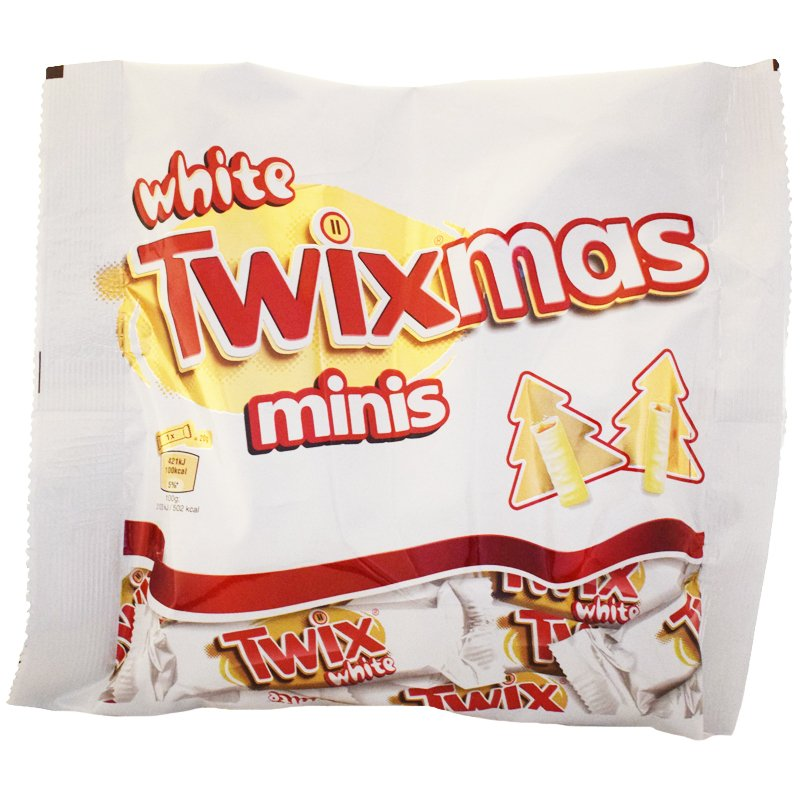 """Godis """"Twix White"""" 170g - 37% rabatt"""