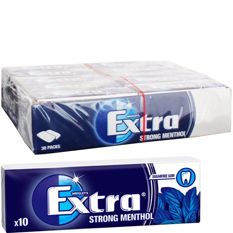 Tuggummi Strong Menthol 30-pack - 50% rabatt