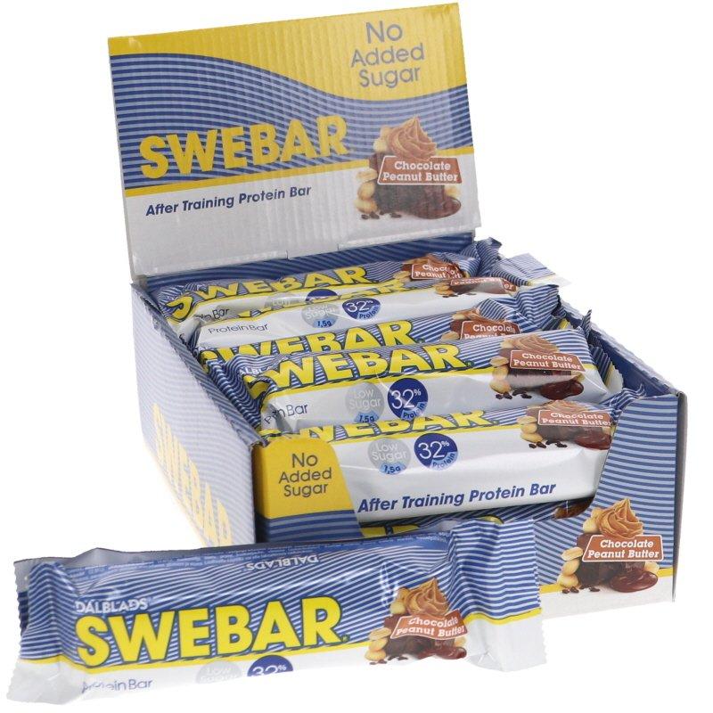 Proteiinipatukat Suklaa Maapähkinävooi 15-kpl - 50% alennus