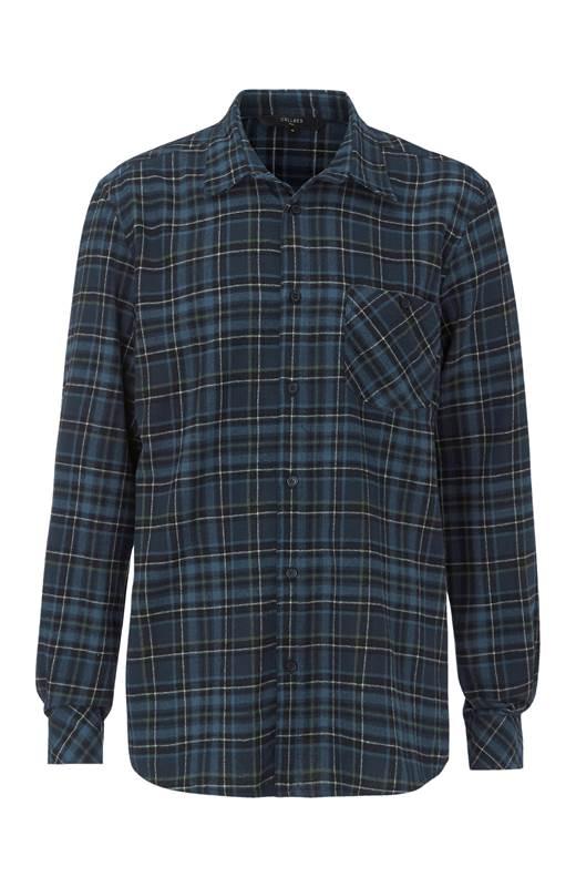 Cellbes Rutig flanellskjorta med rak passform Rutig