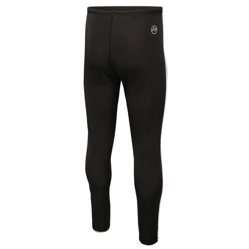 Regatta Men's Innsbruck Activewear Workout Trouser Black L_TRJ363 - Black with White Trim S