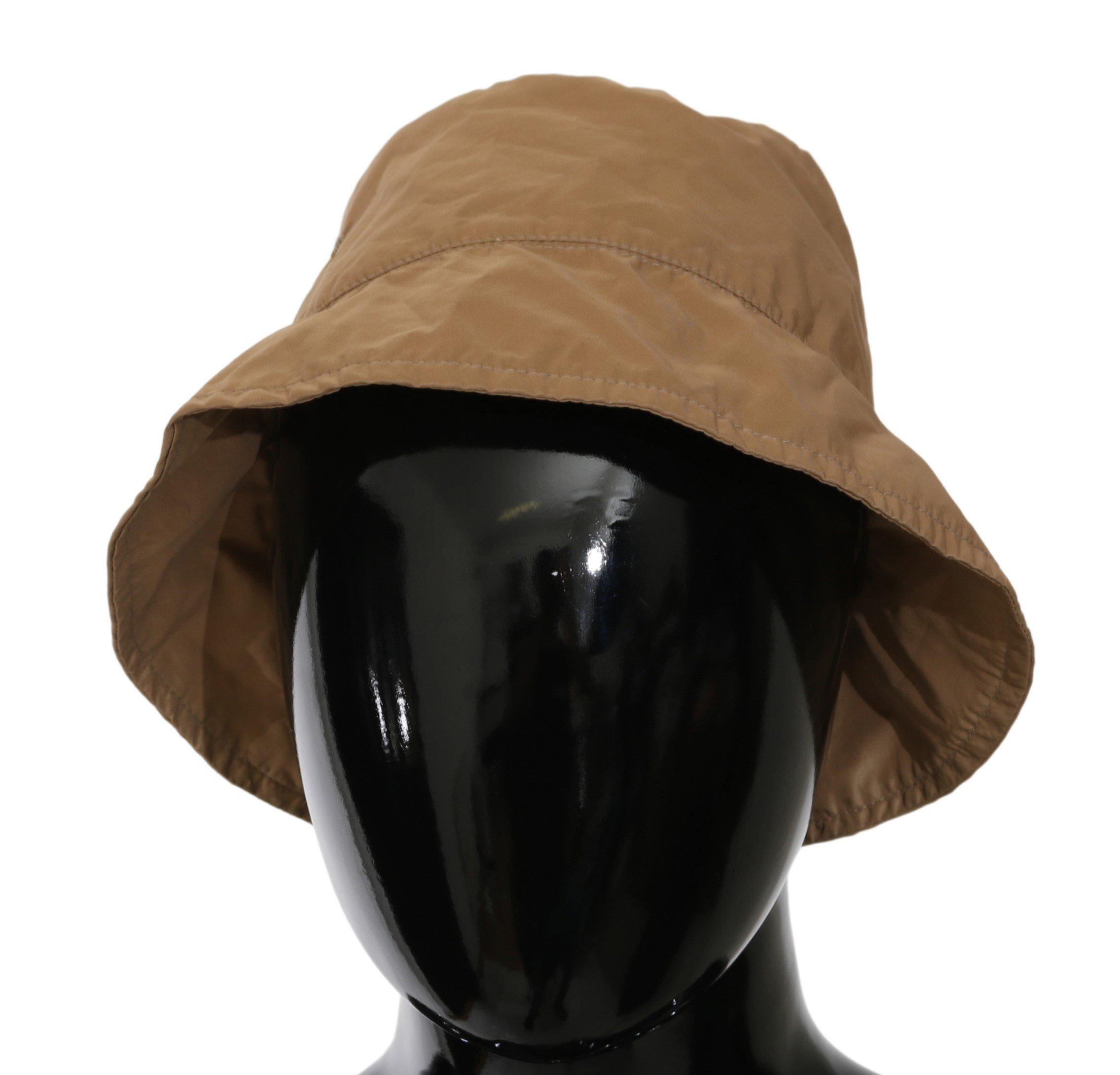 Ermanno Scervino Women's Bucket Outdoor Hat Brown HAT20024