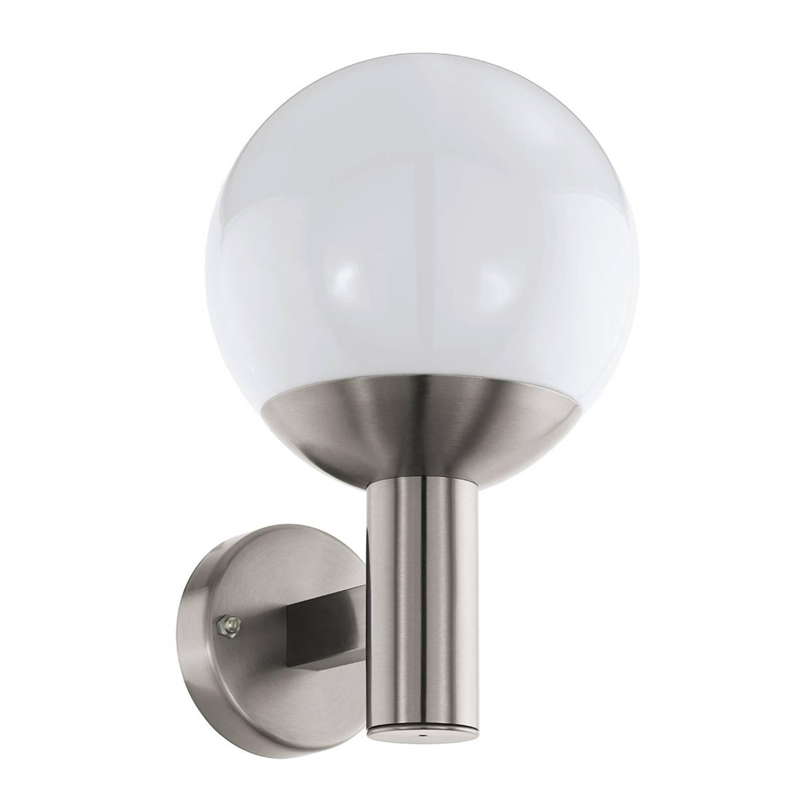 EGLO connect Nisia-C utendørs LED-vegglampe