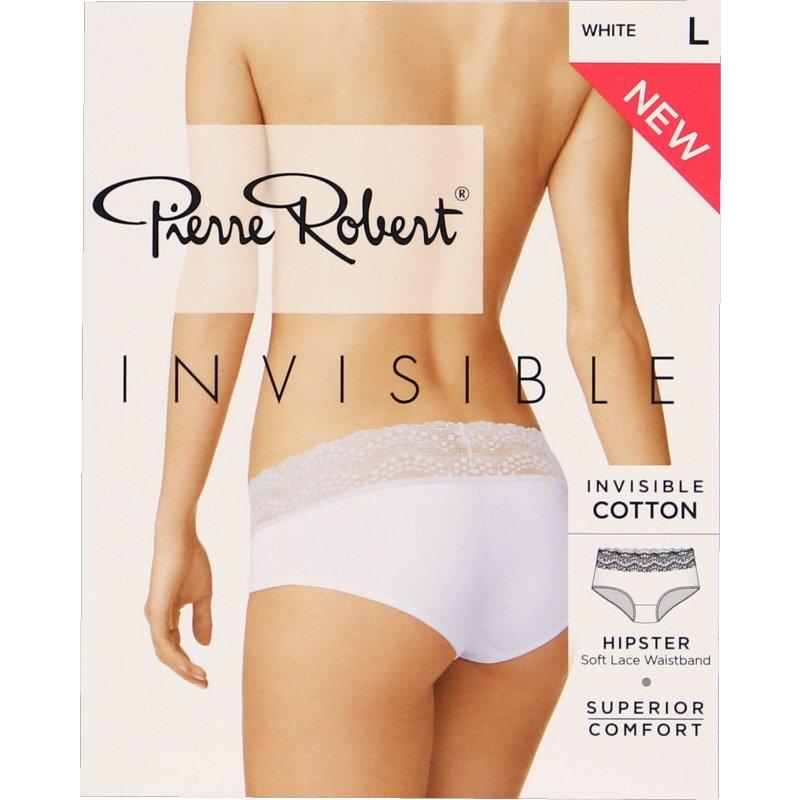 Invisible Hipster Lace Alushousut Valkoinen Koko L - 77% alennus
