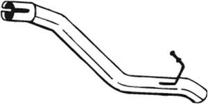 Pakoputki, Takana, FORD FOCUS Sedan II, 1334042, 1364104, 1424384