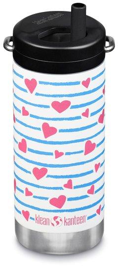 Klean Kanteen W. Twist 355 Heart Stripe