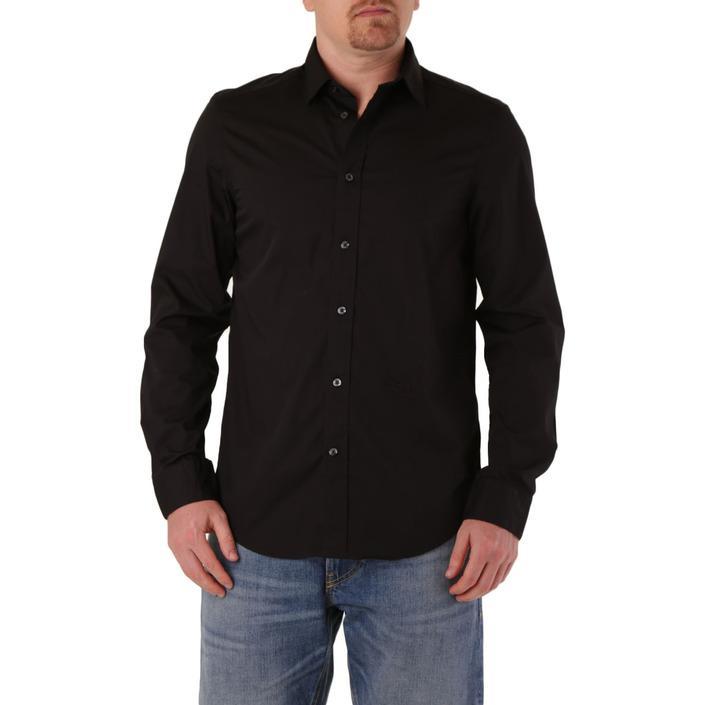 Diesel Men's Shirt Black 287432 - black S