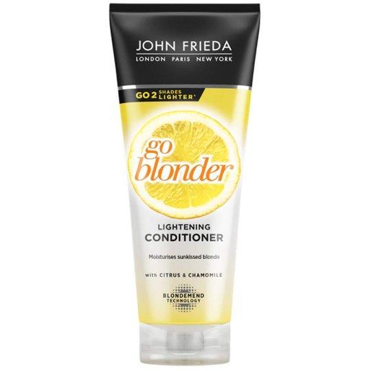 John Frieda Sheer Blonde Go Blonder Lightening Conditioner, 250 ml John Frieda Hoitoaine