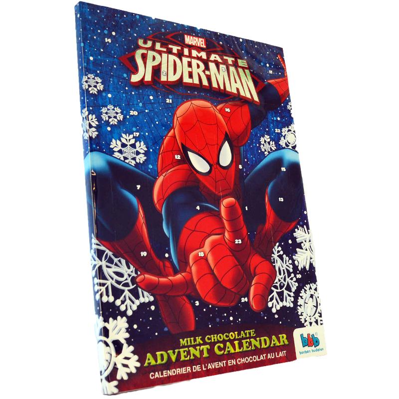 Adv. kalender Spiderman - 50% rabatt