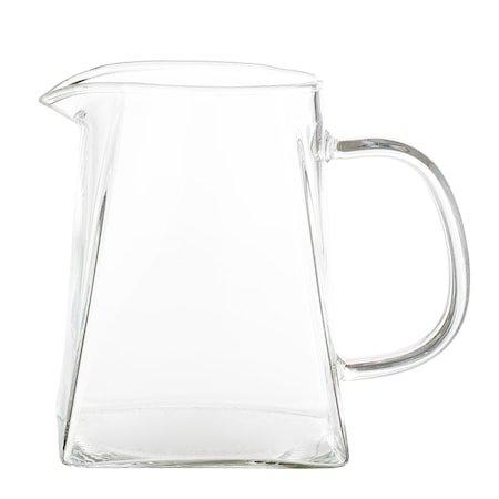 Milk Jug, Clear, Glass