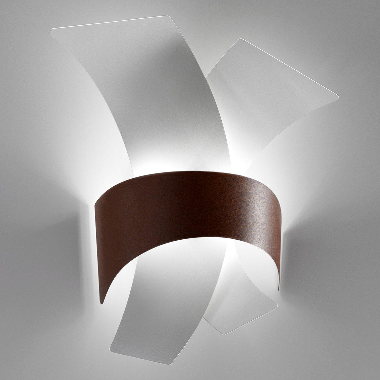 Calypso – LED-vegglampe av metallbuer
