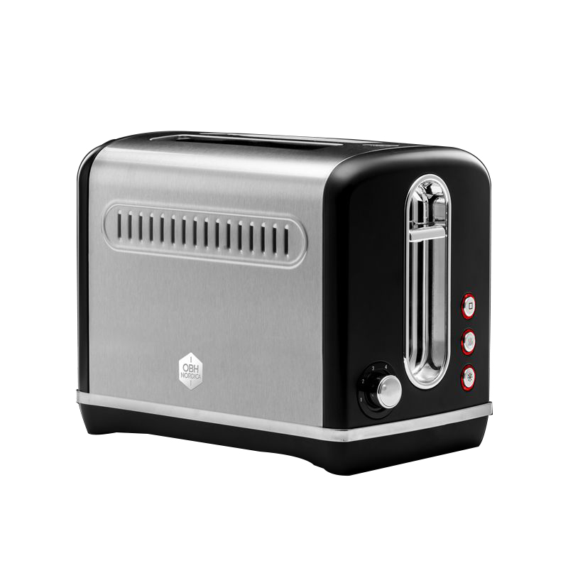 OBH Nordica - Legacy Toaster - Black (2706)