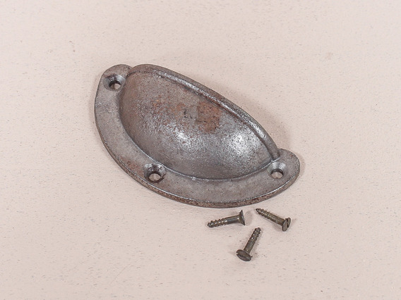 Antique Style Cast Iron Cup Handle - Small Medium