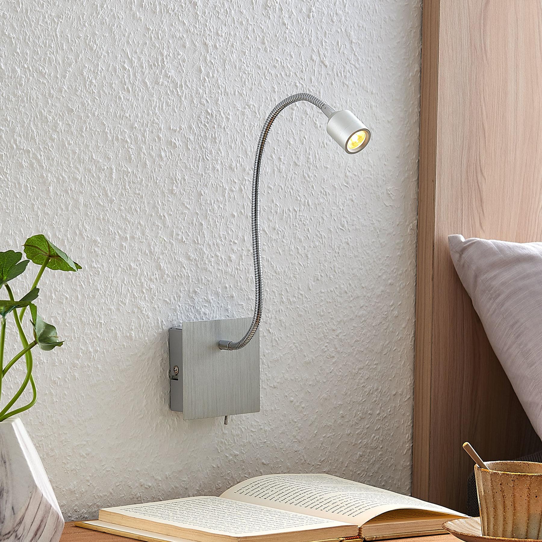Lindby Anjalee -LED-seinävalaisin, säätövarsi