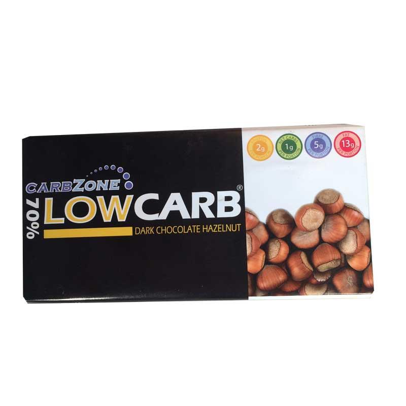 Low Carb Mörk choklad Hasselnöt - 61% rabatt