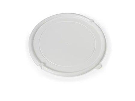Lokk till plastbøtte Hvit 10L
