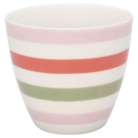 Valentina Latte Cup Vit