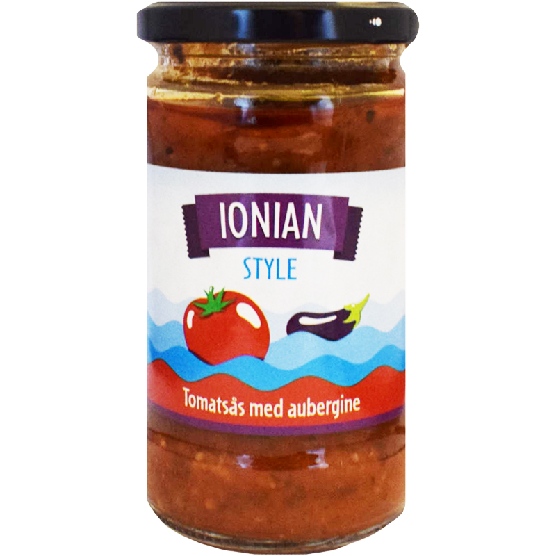 Tomatsås Aubergine - 26% rabatt