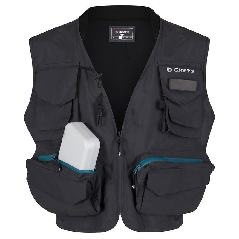 Greys Fishing Vest M Carbon
