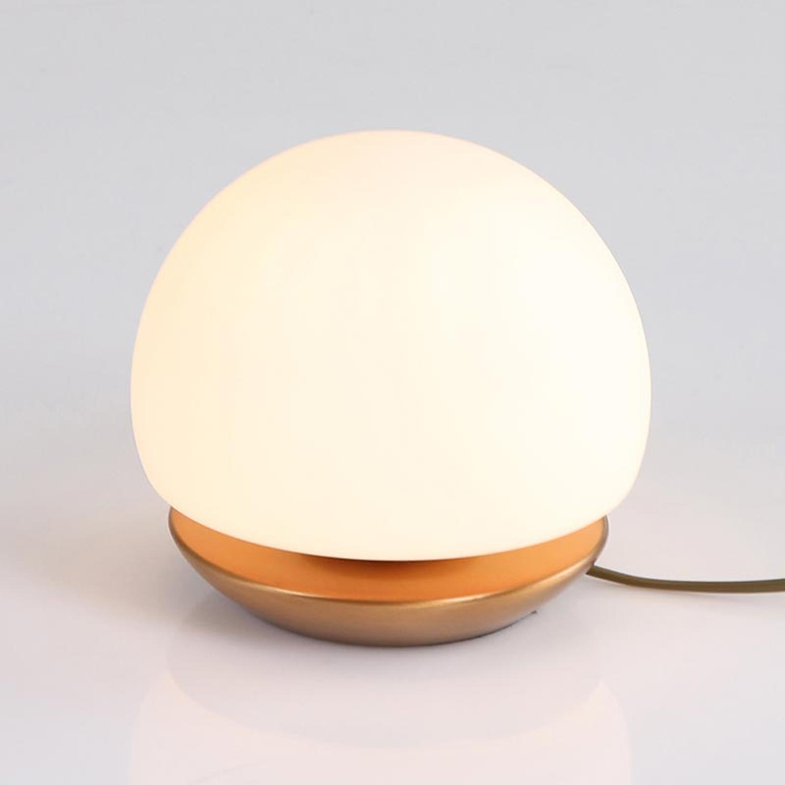 Pieni LED-pöytälamppu Ancilla, pronssi