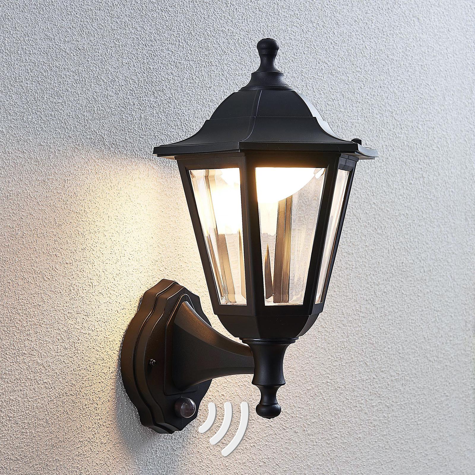 LED-ulkoseinälamppu Iavo, anturi