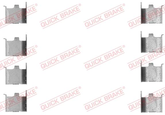 Tarvikesarja, jarrupala QUICK BRAKE 109-1132