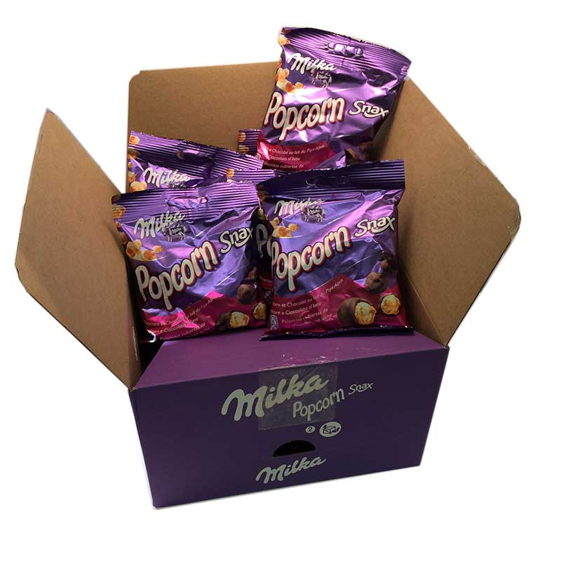 Popcorn snax Hel låda - 81% rabatt