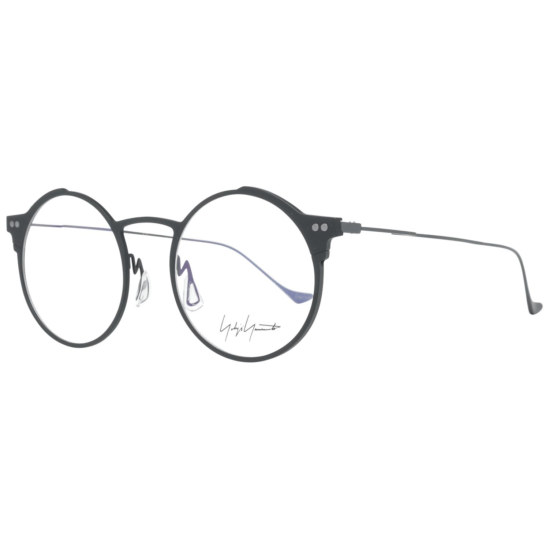 Yohji Yamamoto Men's Optical Frames Eyewear Black YY3025 49002