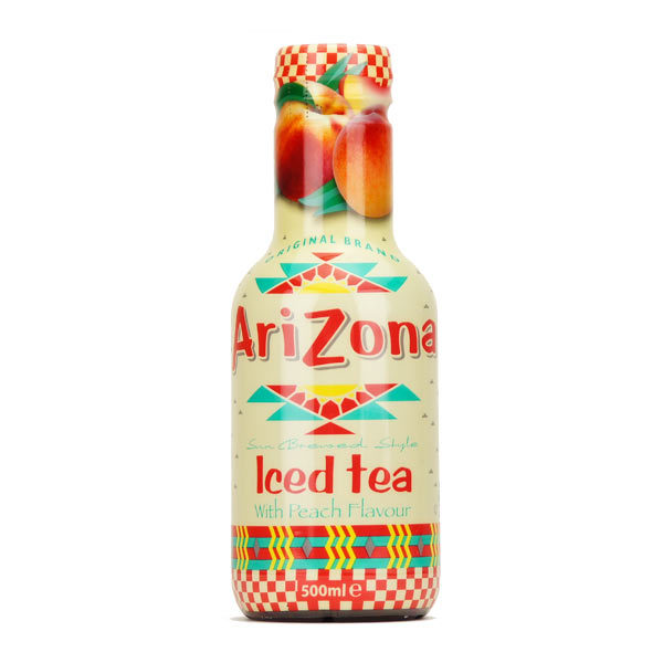 Arizona Peach Ice Tea 500ml PET