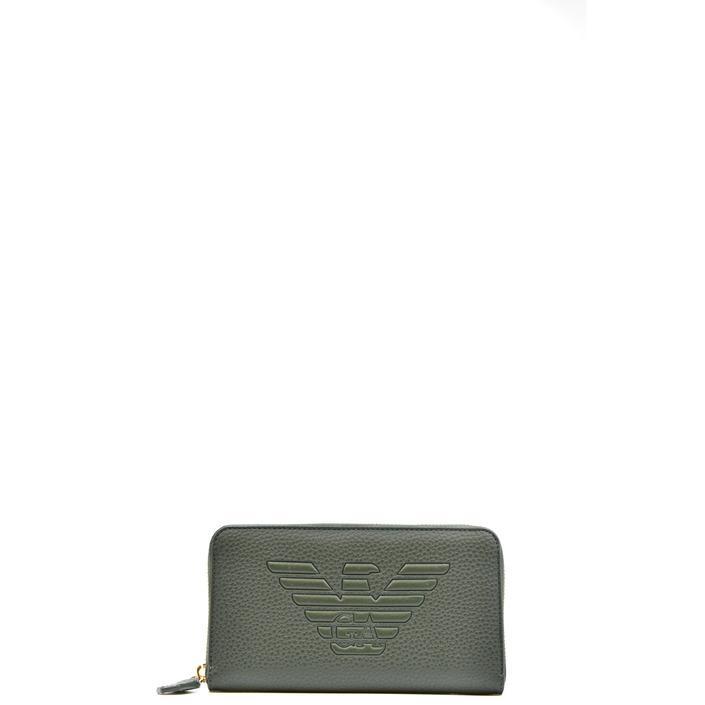 Emporio Armani Women's Wallet Green 308696 - green UNICA