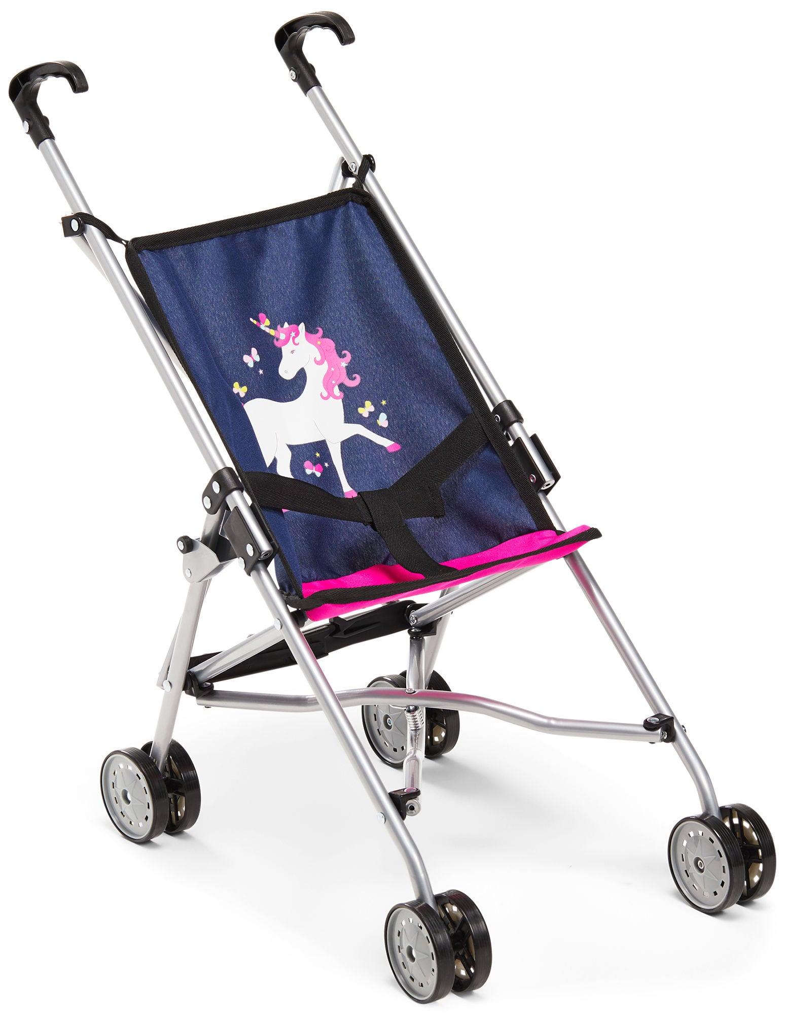 Bayer Design Nukenvaunut Buggy, Sininen/Vaaleanpunainen