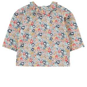 Bonpoint Floral Smock T-shirt Flerfärgad 6 mån