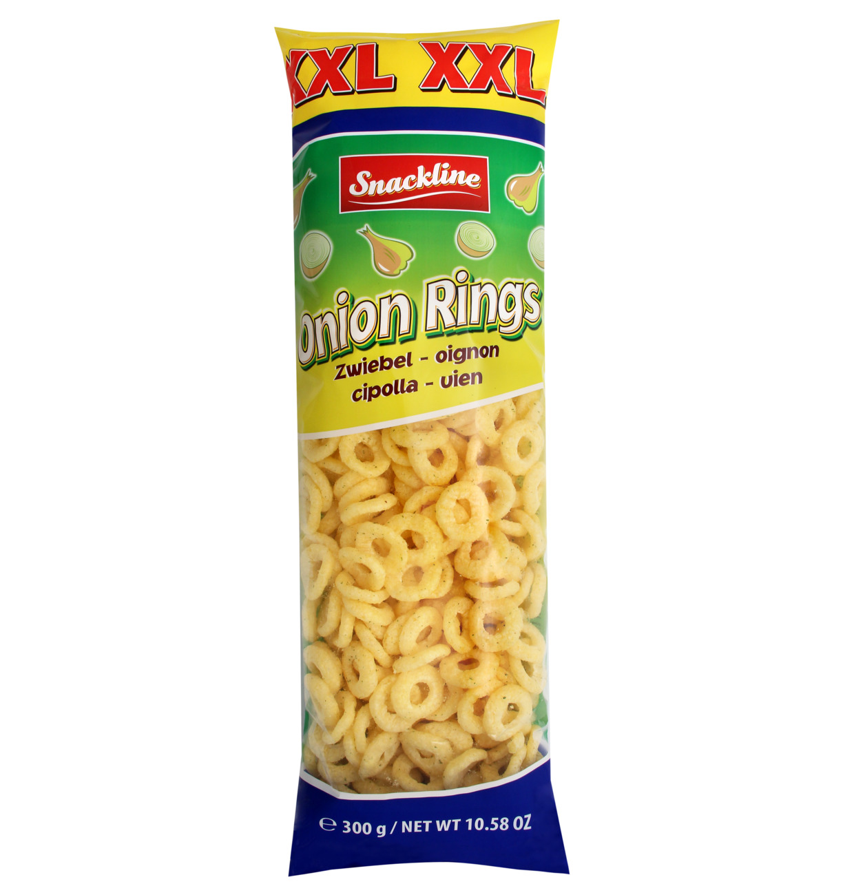Snackline Onion Rings XXL Bag 300g