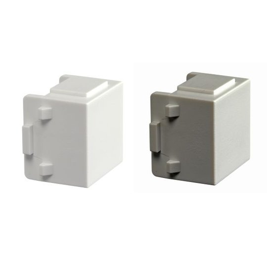 Schneider Electric WDE002041 Sulkutulppa asennusrasiaan, 10 kpl valkoinen