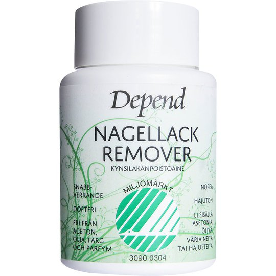 Depend Nail Polish Remover Dip-In, 75 ml Depend Kynsilakanpoistoaineet