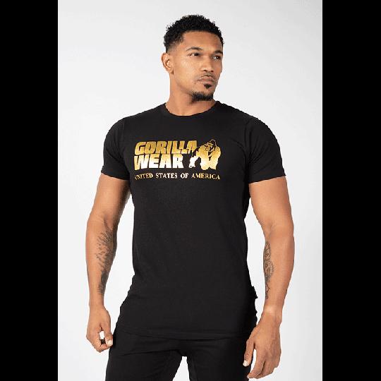 Classic T-Shirt, Black/Gold