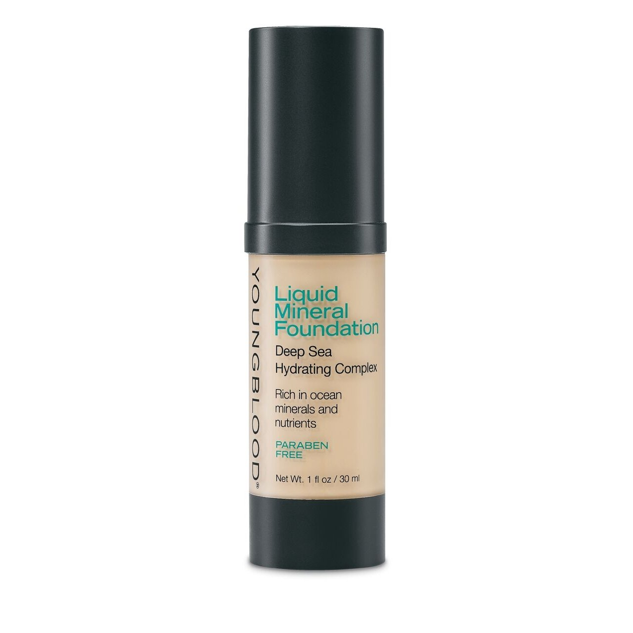 YOUNGBLOOD - Liquid Mineral Foundation - Shell