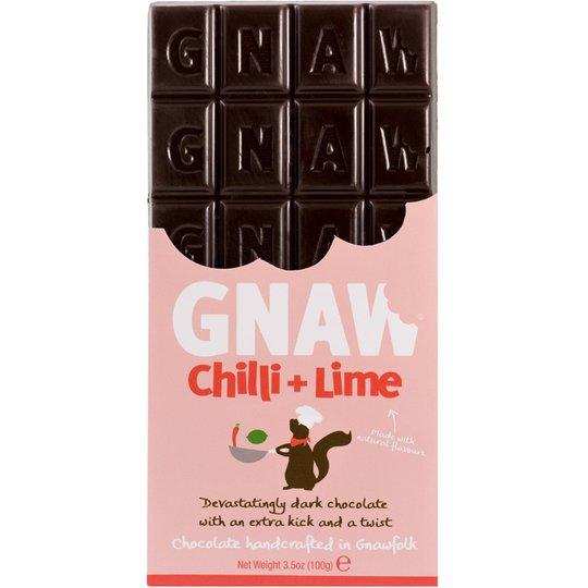 Mörk Choklad Chili & Lime 100g - 40% rabatt