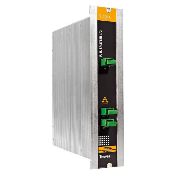 Televes 2337 Optisk splitter med SC/APC-tilkobling 2-veis