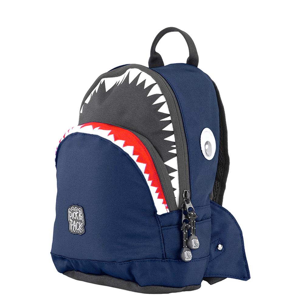 Pick & Pack - Shark Shape Backpack 7 L - Navy (515004)