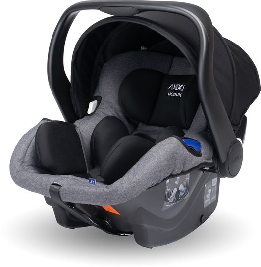 Axkid Modukid Infant Babybilstol, Grey
