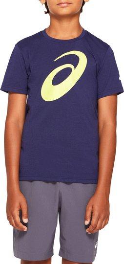 Asics Big Spiral T-shirt, Peacoat, S