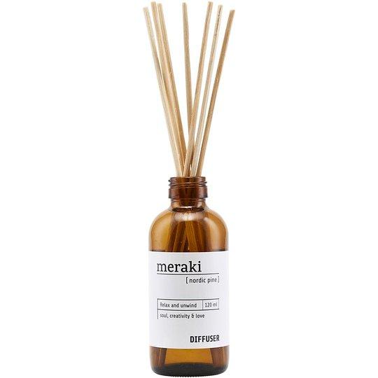 Nordic Pine Diffuser, 120 ml Meraki Huonetuoksut