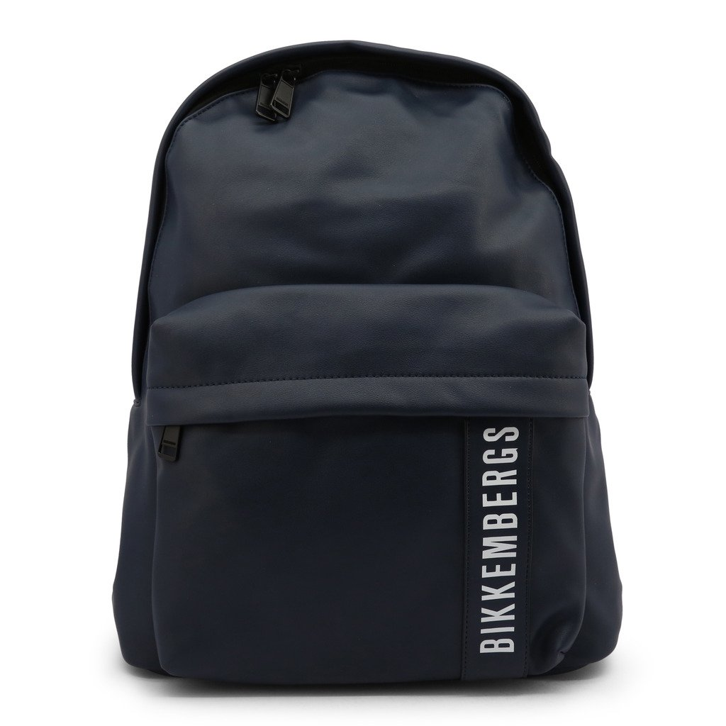 Bikkembergs Men's Backpack Blue E2BPME4A0045 - blue NOSIZE