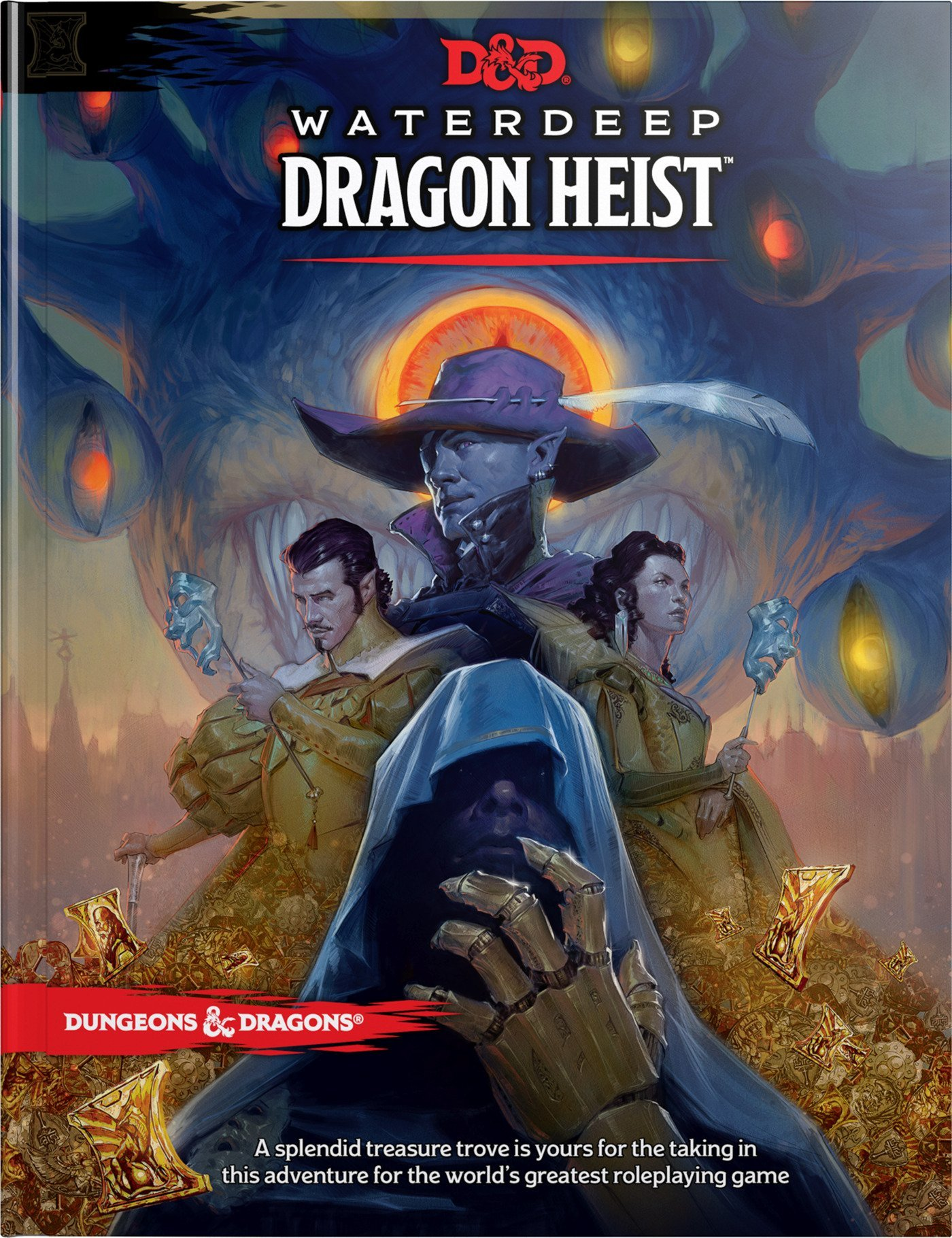 Dungeons and Dragons - Waterdeep Dragon Heist Book (D&D) (English)
