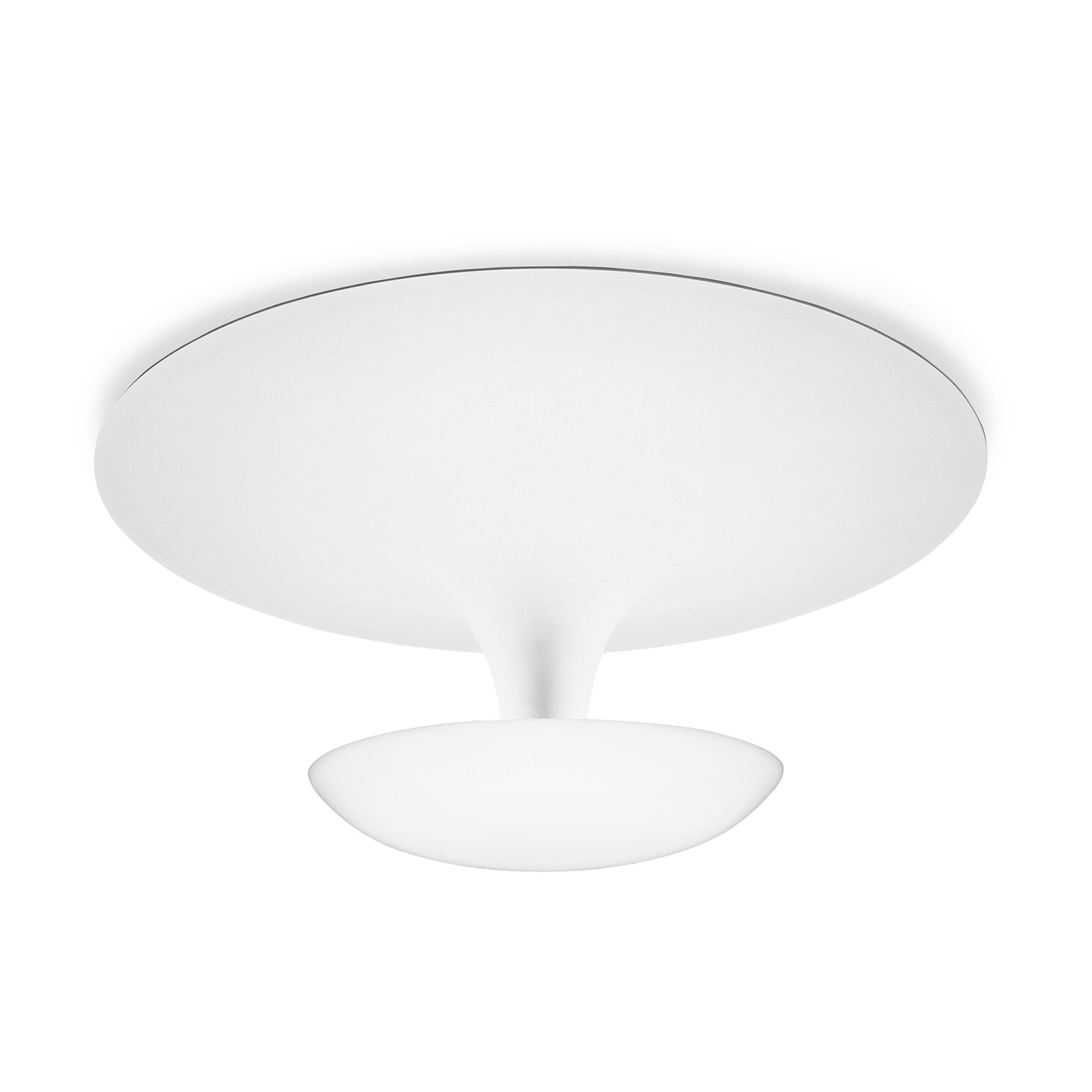 Vibia Funnel - taklampe 35 cm, matt hvit