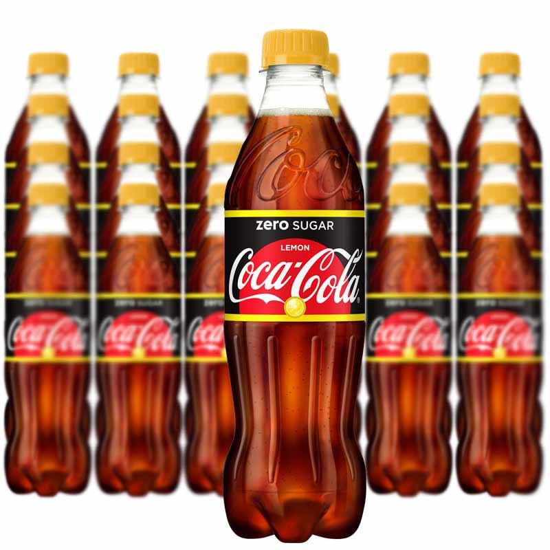 COCA COLA ZERO SUGAR LEMON 50CL*24 st