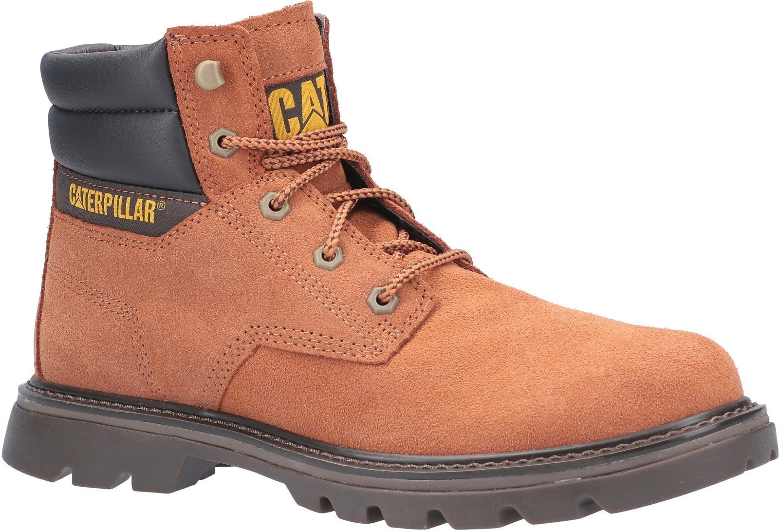 CAT Lifestyle Men's Quadrate Lace Up Boot Ginger 29567 - Ginger 7