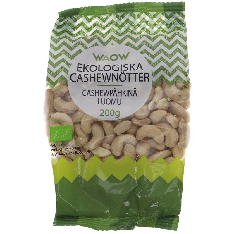Luomu Cashewpähkinät - 55% alennus